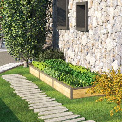 Revillage İDA 19-28 Bahçe Yatağı